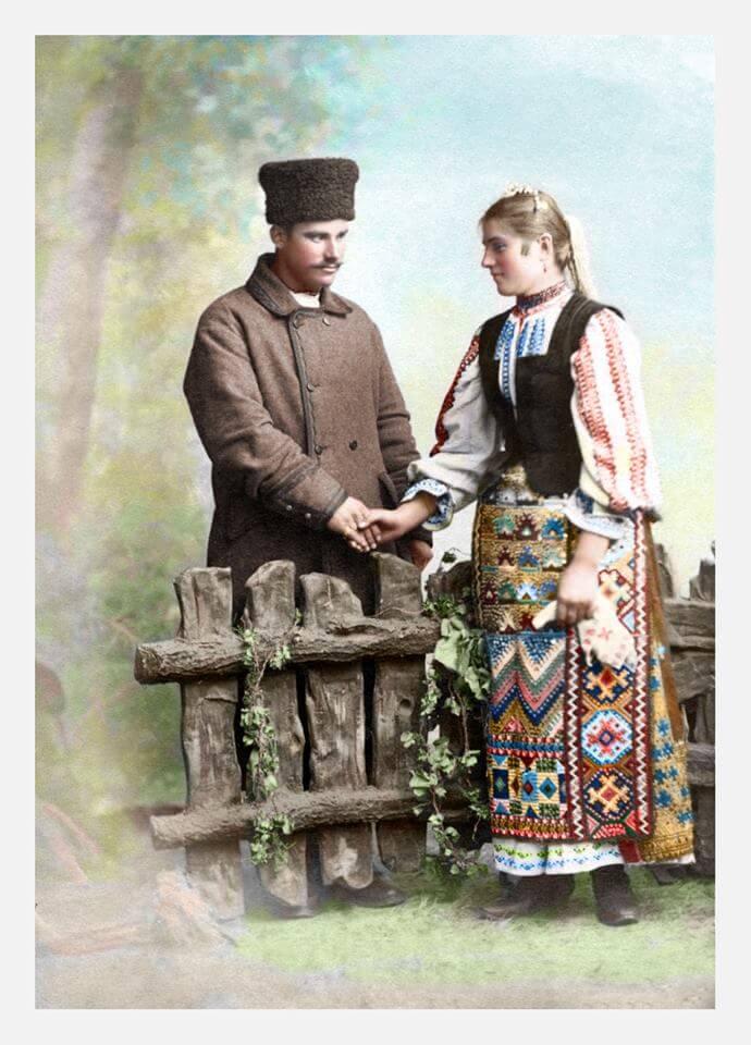 Tineri Braila 1921 Istoria românilor în culori