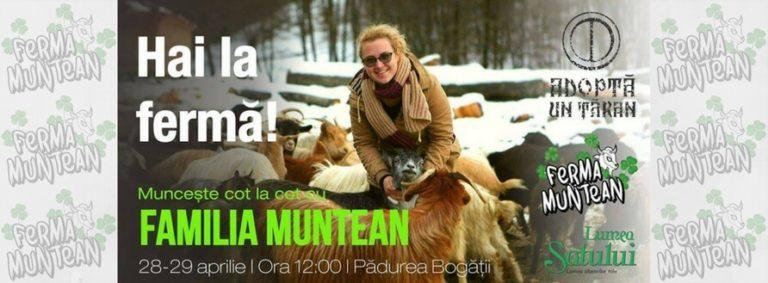 Aventură la stâna de capre - Ferma Muntean, judetul Brasov