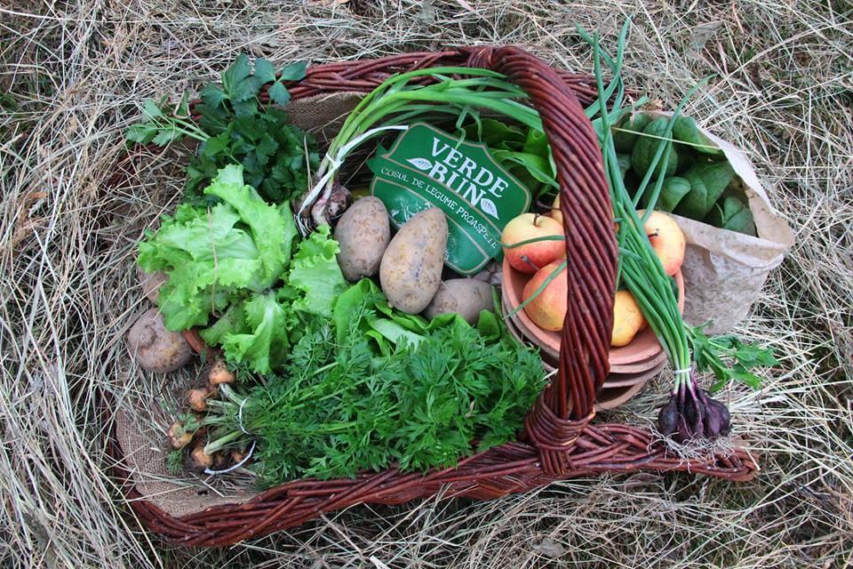 Cosul cu legume Verde Bun