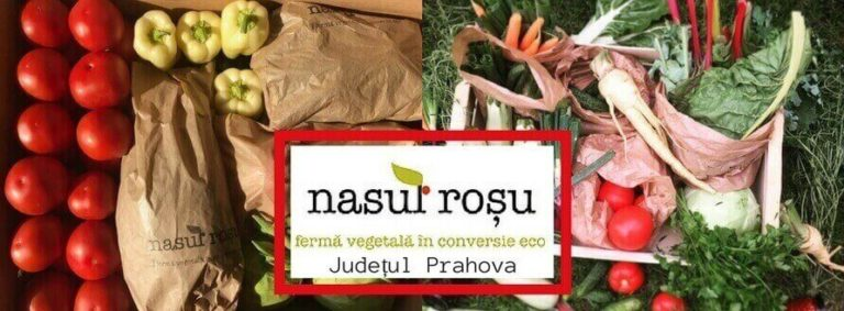 Ferma Nasul Roșu din judetul Prahova, ferma vegetala in conversie eco