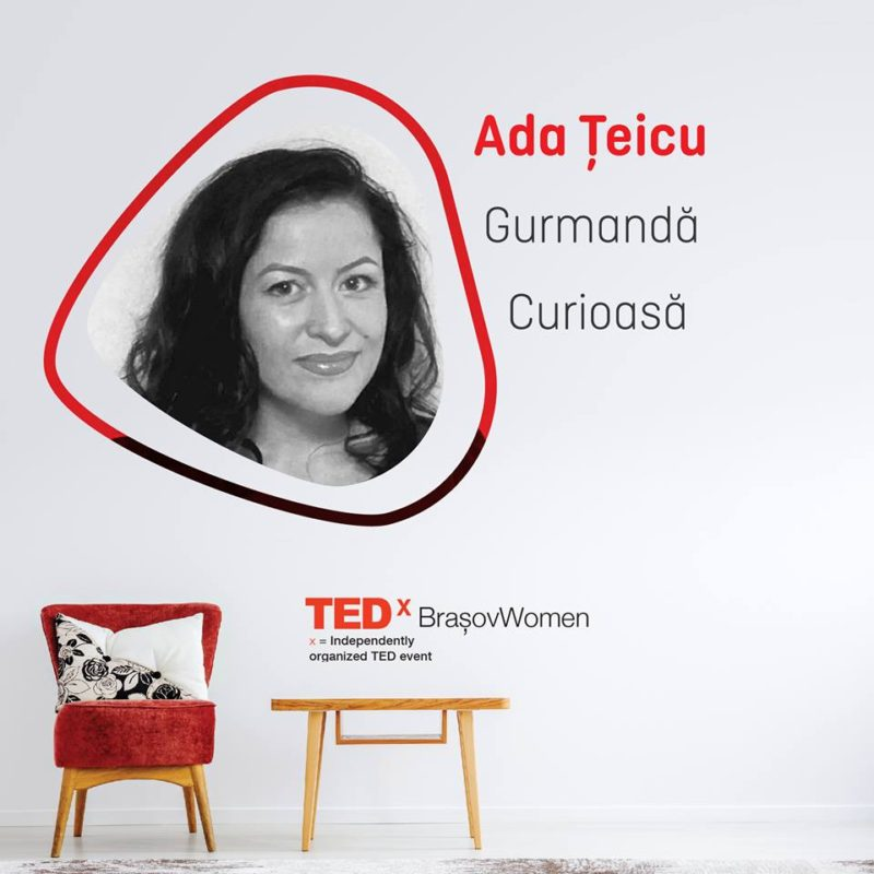 Gurmanda curioasa de la PlatFerma la TEDx Brașov Women Fill in the Blanks
