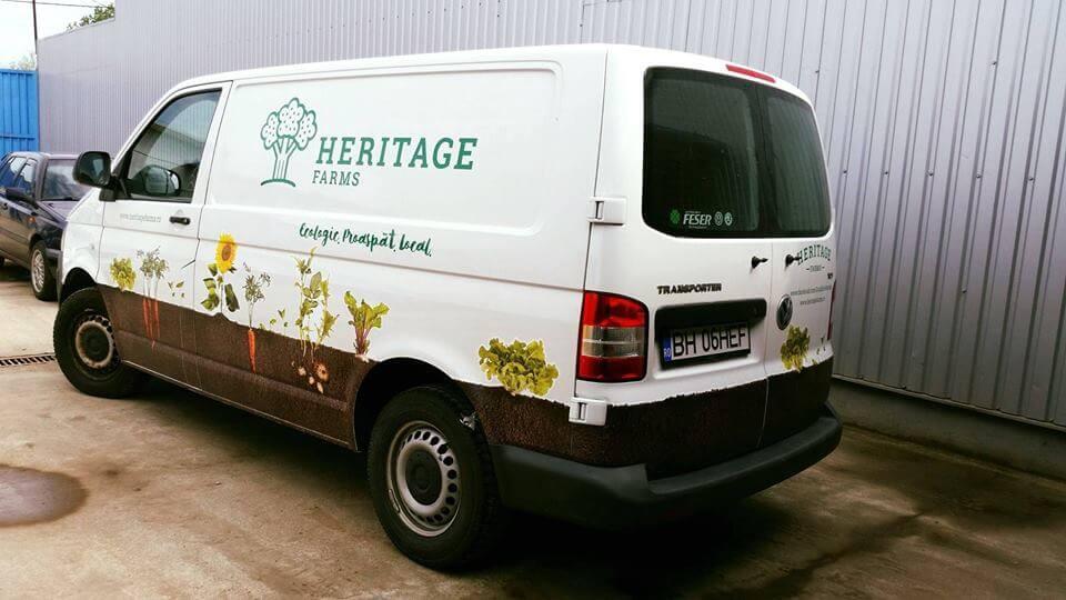 Masina de livrari Heritage Farms