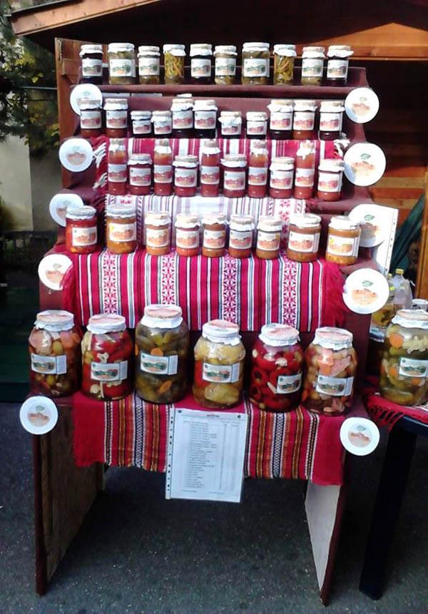 Prezentarea produselor La Borcan